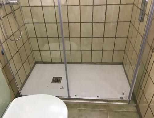 Cambio de bañera por ducha en Campos Crespo