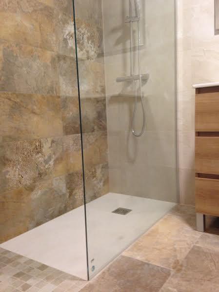 Reforma completa de cuarto de baño en San Marcelino
